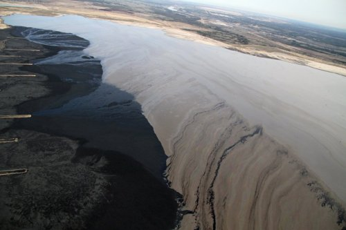 therecipe:  saveplanetearth:  The Canadian Tar Sand Mines Refused Us Access, So We Rented This Plane To See What They Were Up To @ Business Insider Photo Gallery (73 pics)  I encourage everyone to look at the 73 photos.
