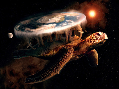 drkindness:  Great A'Tuin, please come carry my world illogically through space.