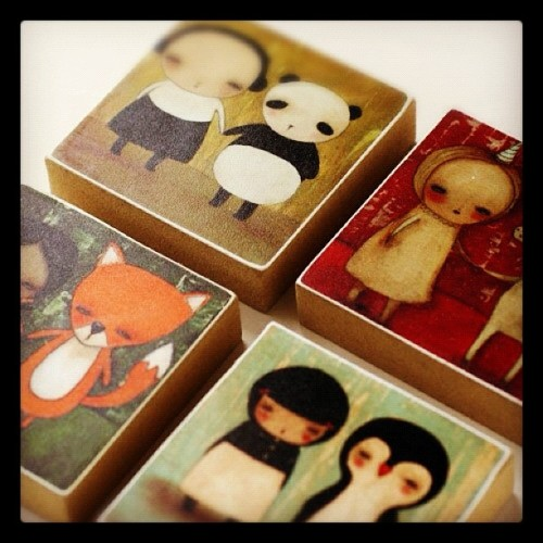 Adorable mini plaques by idania at shanalogic.com