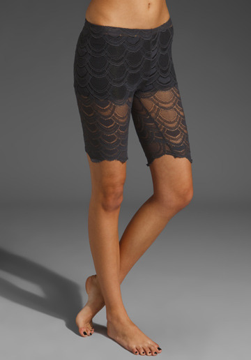 Lace bike shorts. Shall I or shan't I?