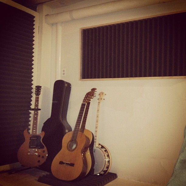 #studio build … Gettin close!  (Taken with instagram)