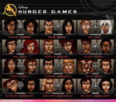 hotlimit:  thatonesupercoolchick:  Disney Hunger Games.  GOOD