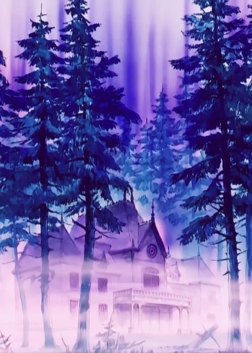 Did you guys notice that not only did Nephrite create his creepy mansion, but also the entire forest it's hidden in?