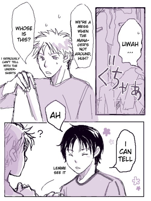 genmitsuni:         The fact that Yama-chan recognizes everyone's scent is kind of disturbing. But then again, it's also very him.