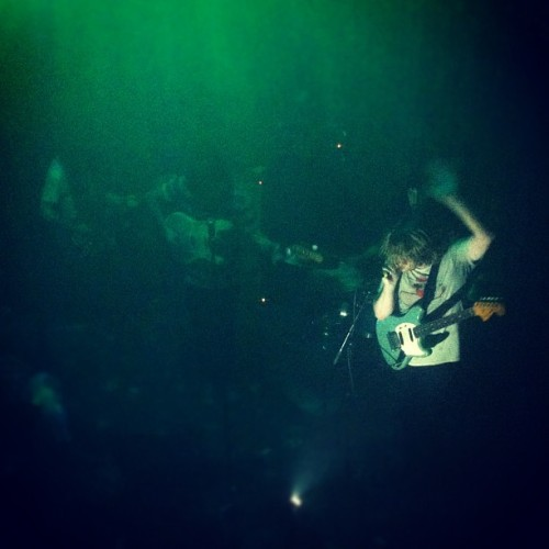 @tysegall at @johnnybrendas! Crowd is moshing in full force! (Taken with instagram)