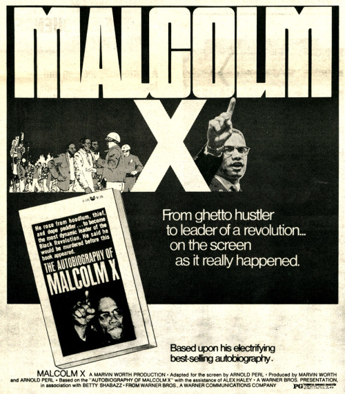 babylonfalling:  Malcolm X: His Own Story as it Really Happened (1972). Celebrate Malcolm's birthday (05/19/25) by watching what is still the best film on his life. Full documentary here