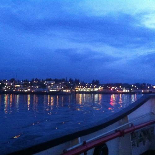 Taken with Instagram at Campbell River Ferry Terminal
