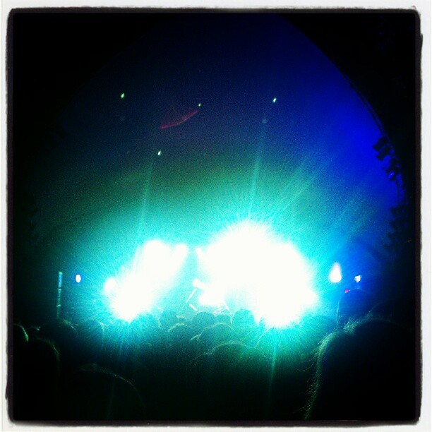 Lower your eyelids to die with the sun #M83 (Taken with instagram)