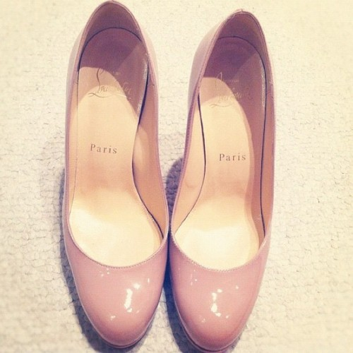 Gorgeous soft pink #pumpheels from #ChristianLouboutin 😍💋 #fashion  (Taken with instagram)