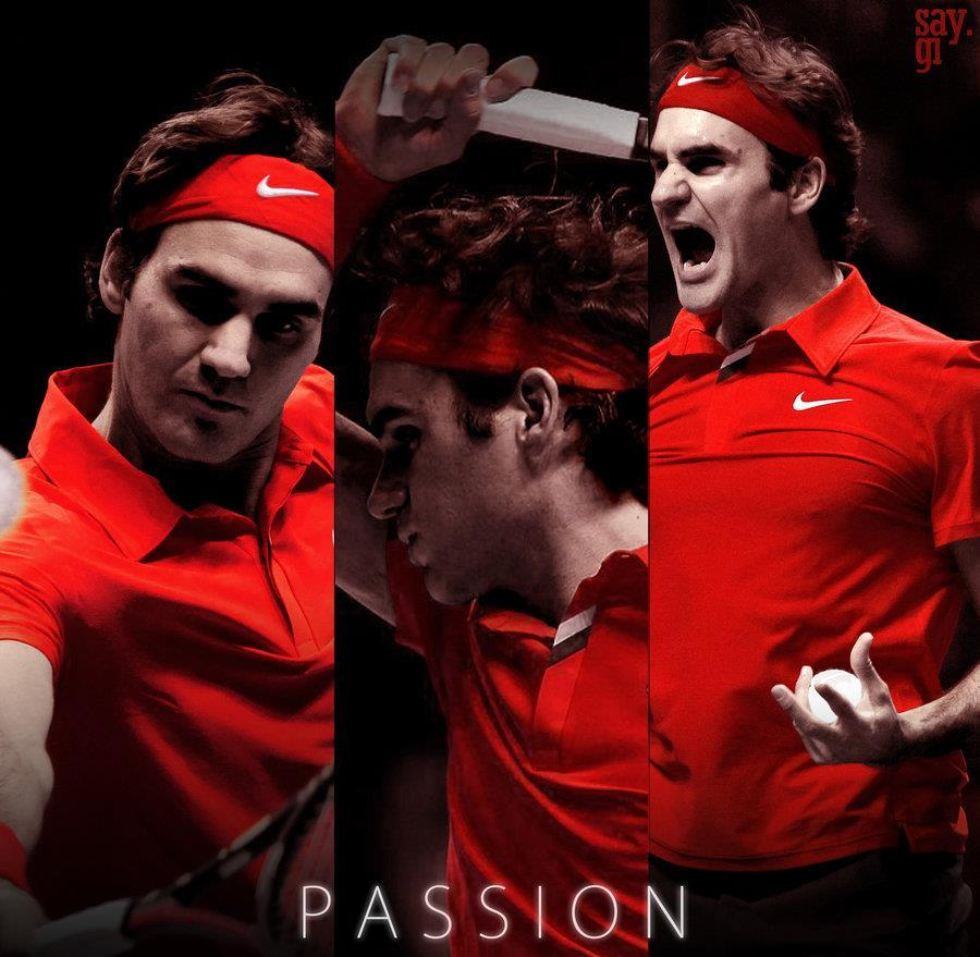 The KING of Tennis!!! GO ROGER!!!!