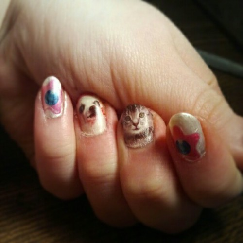 nails just reached a whole new level of awesome potential (Taken with instagram)