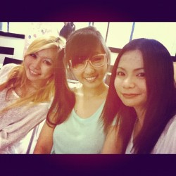at summers eve event with @pleaselovelulu  and larissa (Taken with instagram)