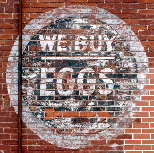 We Buy Eggs - Wall Sign in La Porte City, Iowa by kyfireenginephoto on Flickr. Via Flickr: This sign is right to the point! I suppose that this particular ad needed a nice round shape! Located in Downtown La Porte City, Iowa.