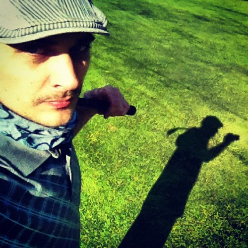 Photogolfin' w/ @markovrtovec @gregafras (Taken with instagram)
