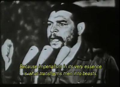 upst8ofmind:  Che Guevara speech on Imperialism (video)