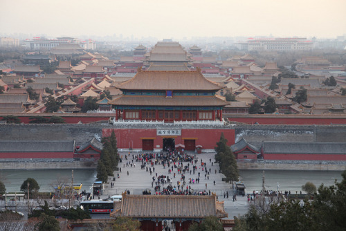 故宫 Forbidden City, Bejing, China by Tania Liu on Flickr.