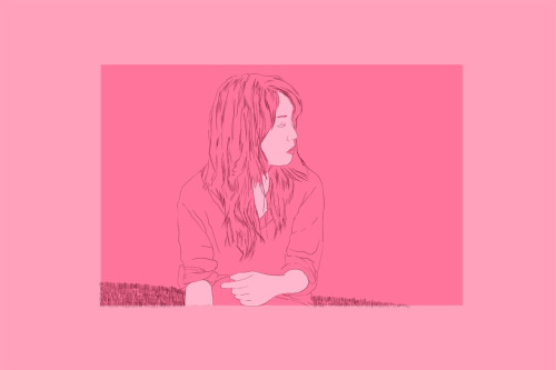 "Pink III. Strus  2012.Illustration break: I've taken time off after my graduation show, and the plan was to start building a more commercial portfolio for entirely different purposes than my 'Grad School Application Portfolio.'  I always have complicated feelings about illustration work- I've mostly disliked the few projects I've been asked to do, and my technical expertise is much more to traditional media than Photoshop or Illustrator. I'm biased, I lean towards conceptual ""fine art,"" but that said there are a number of illustrators who have been influential to me including Barnaby Ward, Ashley Wood and in a big way Jillian Tamaki (SVA).Tara McPherson isn't my sort of direction at all- I saw some cheesy prints of hers in the East Village the other week and imagined them wall-sized like a Takashi Murikami or a Lisa Yuskavage, and I thought that would look kinda great actually.News: a recent PETA ad campaign (I drew for- it was fun!) that was art directed by the amazing Bellamurphy won a OneShow award!  Sarah's tumblr here."