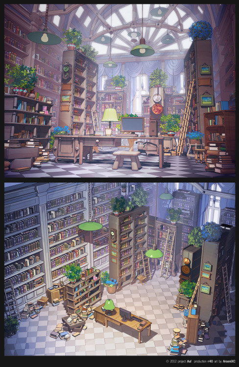 Library by ~arsenixc