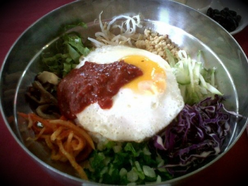 Goin through a Bibimbap craze