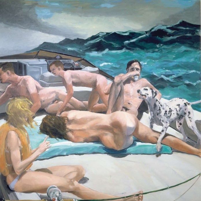 Eric Fischl, The Old Man's Dog and the Old Man's Boat, 1982