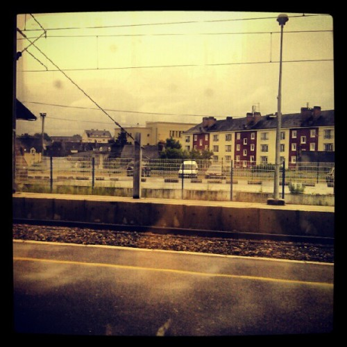 On the way to Paris. #TGV #France #Laval #train #travel (Taken with instagram)