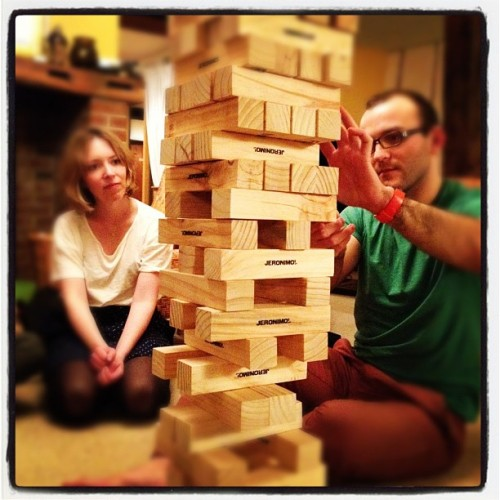 Insane jenga (Taken with instagram)