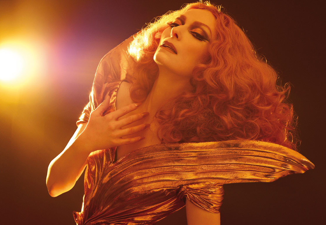 for-redheads:  Tilda Swinton by Xevi Muntané for Candy Magazine #4