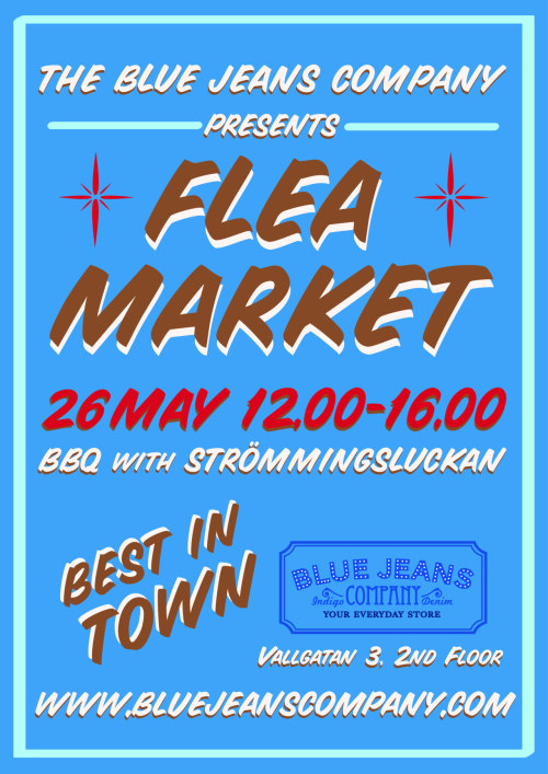 One week left to our fleamarket. Don't miss!