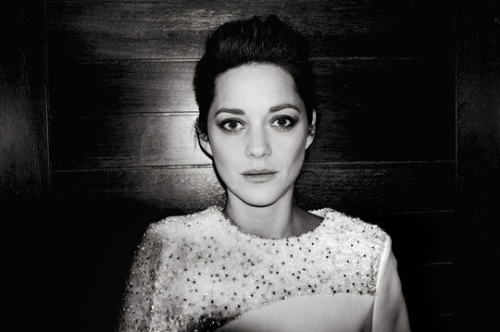 marionrichard:  Love this photo of Marion Cotillard. xx MR.