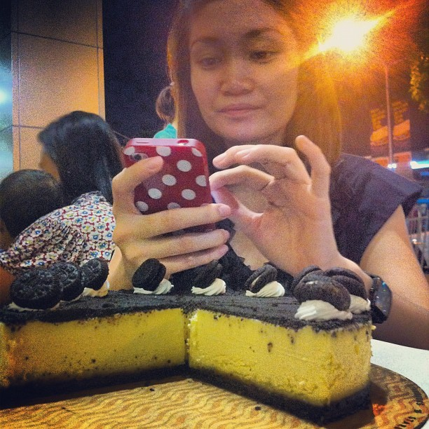 Sweet eli🍰 @foreverdengly @musnimae  (Taken with instagram)