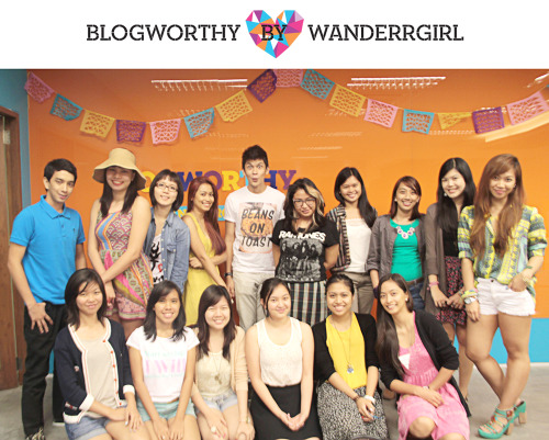 Blogworthy: Batch 1 Babies From upper left, clockwise: Raniel, Bernice, Audz, Jayme, Apa, Vicky, Yem, Kimmi, Desiree, Meeeeeee!!, Aireen, Joanna, Nina, Abbey, Niki, Kristine Getting such amazing response from this one, that it looks like I'm definitely doing a Round 2! To find out more about this blogging workshop, check out the course description here, and let me know in the comments or on my Facebook wall if you want to be updated about details for the 2nd batch :)