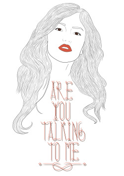 Drawing/Photoshop ⨻ Are You Talking To Me ? ⨻