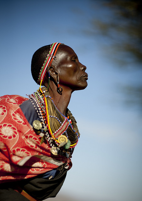 weareallafricans:  Old Samburu tribe woman - Kenya by Eric Lafforgue on Flickr.