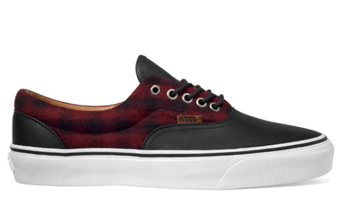 thevansvault:  vans vault flannel era lx biking red please reissue!