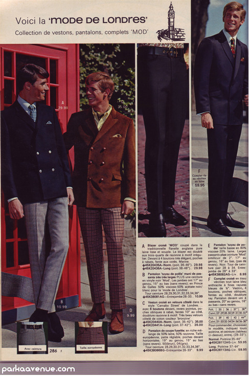 parkaavenue:  Mod Suit - London fashion [New post] Mail-order Mod, circa 1967 parkaavenue.com