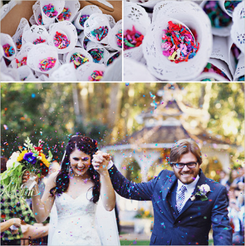 sweepmeup:  Colourful confetti.