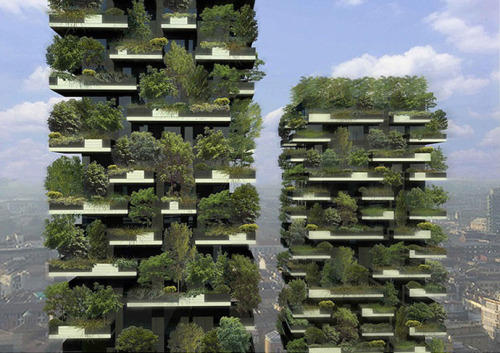 helloyoucreatives:  We need some in London - The World's First Vertical Forest Tower -  The World's First Vertical Forest Tower, designed byarchitectStefano Boeri