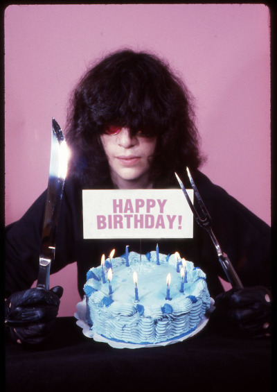 nukemhigh:  Happy Bday Joey Ramone (May 19, 1951 – April 15, 2001)