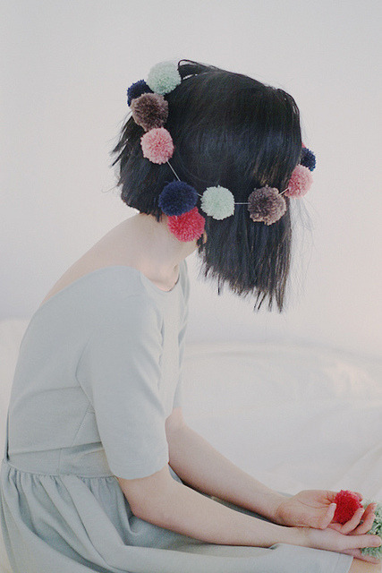 agapie:  pom pom by ssssssssssssss3 on Flickr.