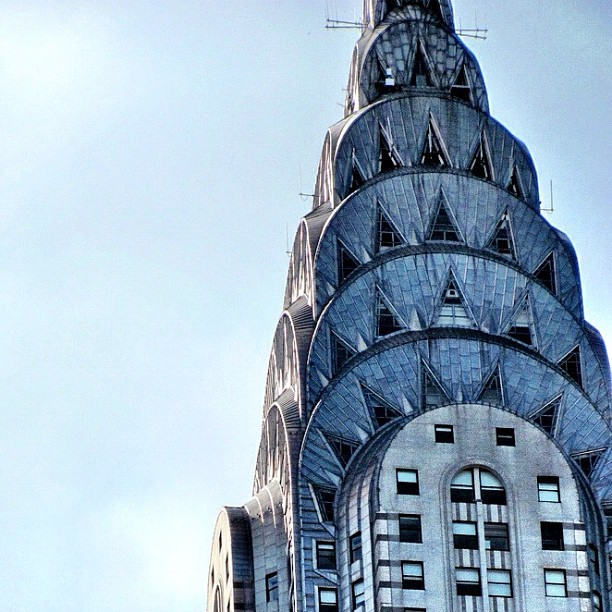 Taken with Instagram at Chrysler Building