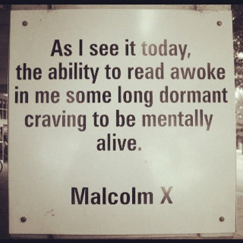 #malcolmxday  (Taken with instagram)