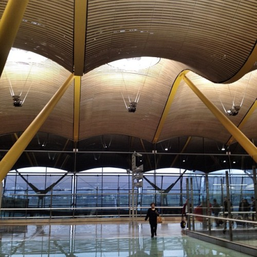 #Barajas #Airport by Rogers Stirk Harbour + Parters #Spain #Madrid #architecture #archdaily #iphonesia #insagood #munichairport (Taken with instagram)