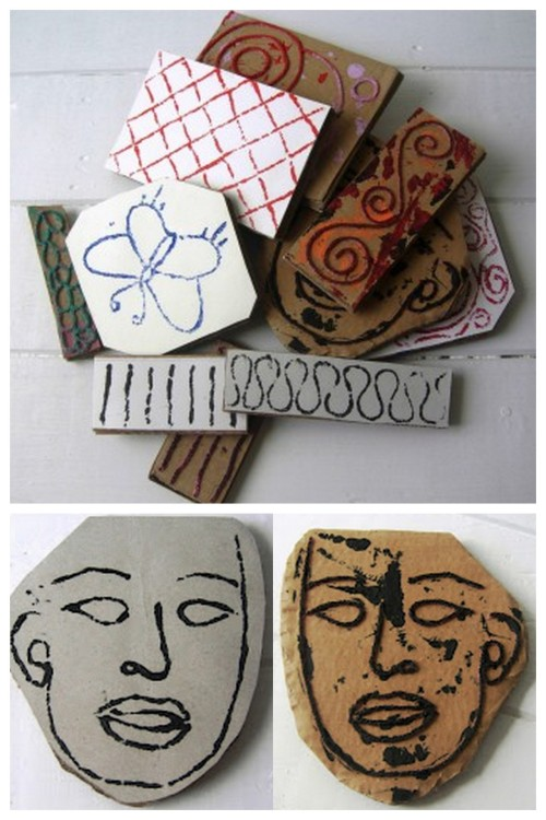 DIY Recycled Cardboard Stamps Using String Tutorial. These stamps are cheap, add tons of texture to your project and did I say cheap? This video tutorial is from my favorite journal making/recycling site: Jennibellie Studio. I've posted her journals and links to her tutorials before and her videos are so good (check out her YouTube channel). Video Tutorial from Jennibellie Studio here.