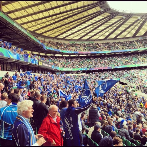 It's filling up (Taken with Instagram at Twickenham Rugby Stadium)