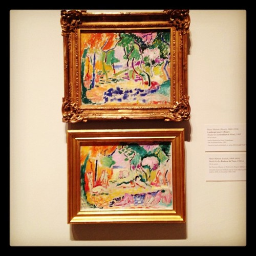 Matisse. I love the color.  (Taken with instagram)