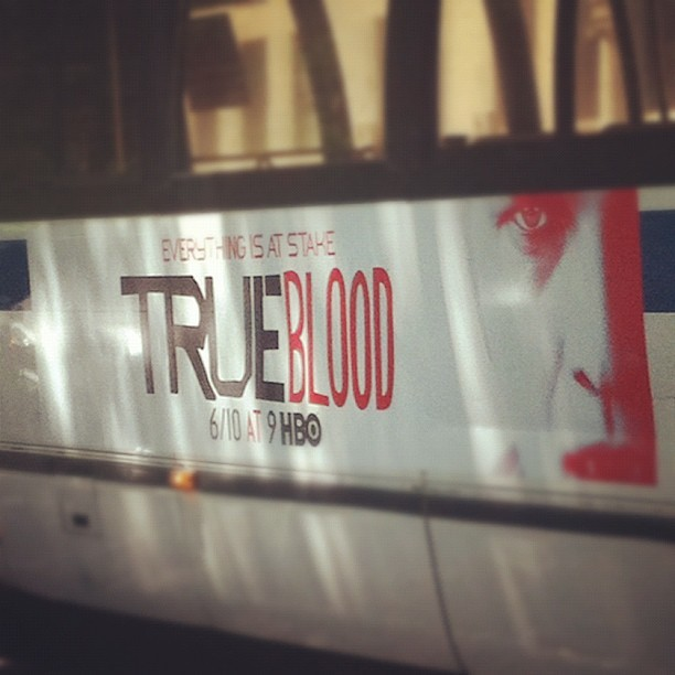You Know I'm HYPED!!! #TrueBlood #WaitingSucks  (Taken with Instagram at 88 Central Park West)