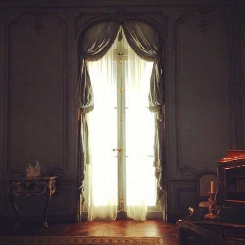 French doors, French hardware.  (Taken with instagram)