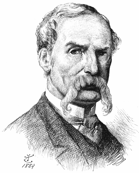Self-portrait, by Sir John Tenniel. Pen and ink on cream wove paper, 1889  Sir John Tenniel (1820 – 1914) was a British illustrator, graphic humorist and political cartoonist whose work was prominent during the second half of England's 19th century. Tenniel is considered important to the study of that period's social, literary, and art histories. Tenniel is most noted for two major accomplishments: he was the principal political cartoonist for England's Punch magazine for over 50 years, and he was the artist who illustrated Lewis Carroll's Alice's Adventures in Wonderland andThrough the Looking-Glass.  The pen and ink drawing was an experiment in technique and in self-portraiture. It was drawn in 1889, and Tenniel wrote to his friend Spielmann, 'I am glad to tell you – at last ! – that you shall have the portrait in a day or two. It is considered a very good likeness, but too serious. Well, taking one's own portrait is a serious business, at any rate, I hope you will like it.' Tenniel's enduring concern with technique is reflected in a further letter, accompanying the finished drawing: I am very glad that you like the portrait. The thing [drawing for process] was so new to me, so entirely 'out of my line' that I really don't see how I can make any charge for it; besides, I looked upon it more as an experiment, with a view to 'process' – than anything else, & therefore, I can only say that it will give me great pleasure if you will do me the kindness to accept the drawing as a contribution to your little 'portrait gallery'.… Do you consider the drawing capable of reproduction by 'process'? I have my doubts!Tenniel's tentativeness with a new technique is expressed in the careful stippling and cross-hatching of the drawing.The drawing is closely related to Tenniel's self-portrait in oils of 1882 (Aberdeen Art Gallery, 3664). The bushy sidewhiskers characteristic of the earlier images are absent here and from other portraits of Tenniel from about this date. John Tenniel was blinded in one eye 'when quite young' in a fencing accident with his father. According to his brother-in-law Leopold Martin it was the right eye. This did not prevent Tenniel from posing from all angles to photographers, and indeed choosing to display his right side in the two self-portraits (1882, 1889), and in his portrait by Frank Holl, NPG 1596.  Sources: here and here