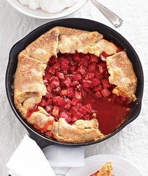 Raspberry-Rhubard Tart … oh yeah. My mouth just puckered. Make!!
