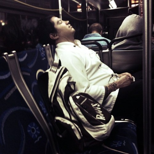 Napping cook (Taken with instagram)